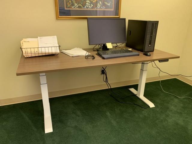 Electric Base Single Desk