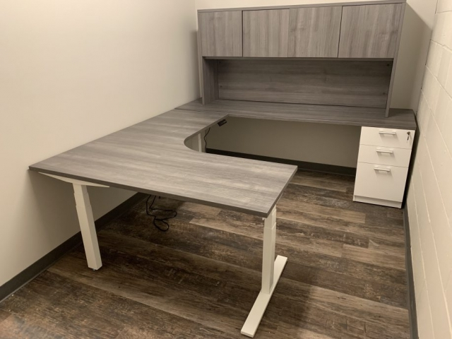 Office Desk with Electric Base
